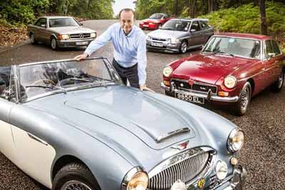 Quentin Willson - London Classic Car Show 2017 - carphile.co.uk
