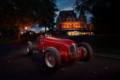 Maserati celebration at Chateau Impney hillclimb 2017 - carphile.co.uk