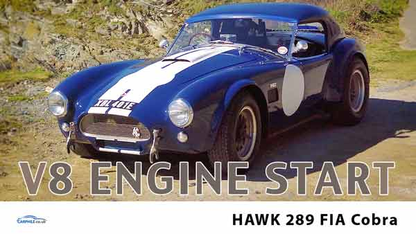 Hawk 289 FIA engine start video - carphile.co.uk